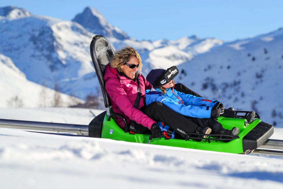 l'Alpine Coaster de l'Alpe d'Huez