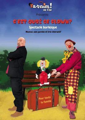 Mardi gras : spectacle – C'est quoi ce clown